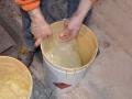 Sacchetto in polietilene a fondo circolare settore chimico