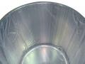 Sacco a fondo circolare in polietilene Mazzeschi con scarico laterale